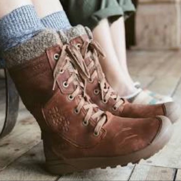 Keen Fremont Tall Lace Up Boots